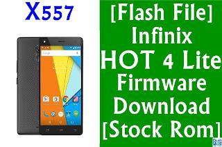 الروم الرسمي لجهاز infinix hot 4 X557 جميع الاصدارات