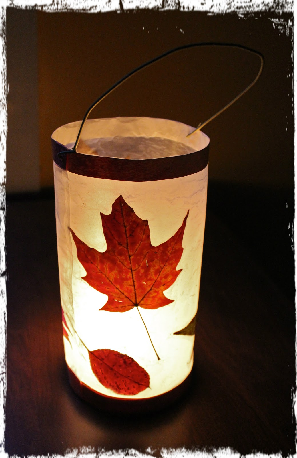 Leuke Lampionnen River Bliss Savoring Light Leaf Lantern Tutorials