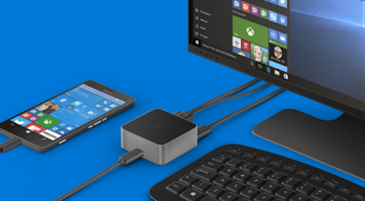 Modifikasi Microsoft Lumia 950 Menjadi Komputer