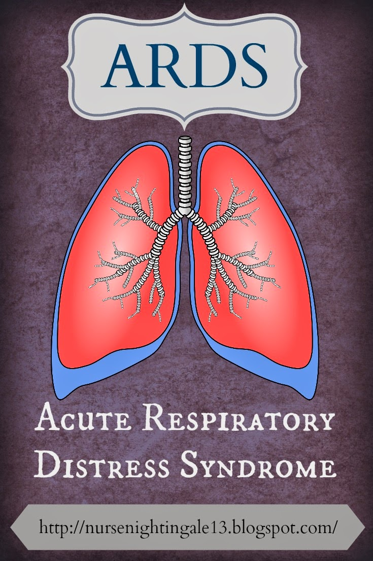 ARDS, Acute respiratory distress syndrome, sepsis, shock, icu, nurse, medical, nursing student, NCLEX, study tips, nursing school