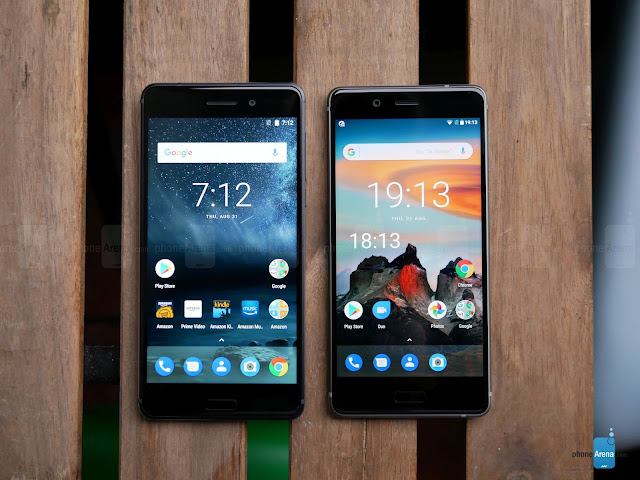 Nokia 6 And Nokia 8 phones