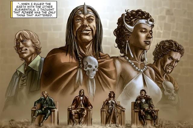 Elementals, Villain yang Mampu Mengendalikan 4 Elemen