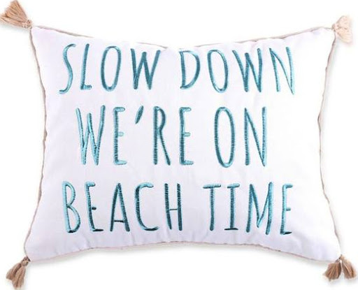 Beach Time Pillow
