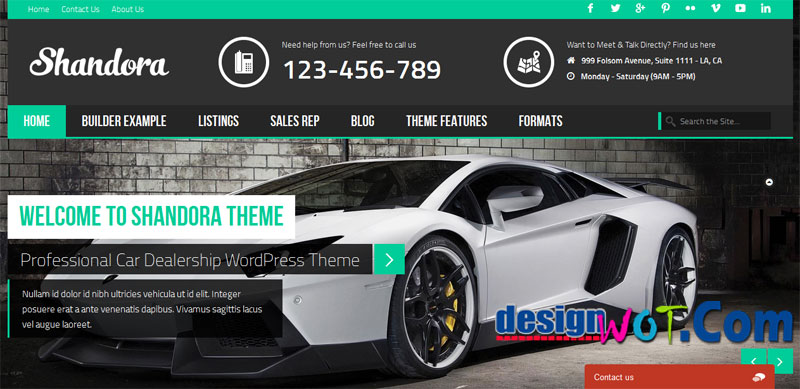 SHANDORA Premium WordPress Themes
