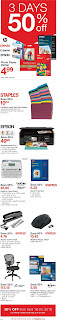 Staples Weekly Flyer and Circulaire April 18 - May 1, 2018