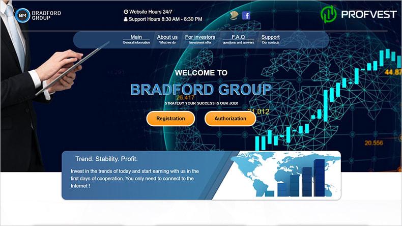 Bradford Group обзор и отзывы HYIP-проекта