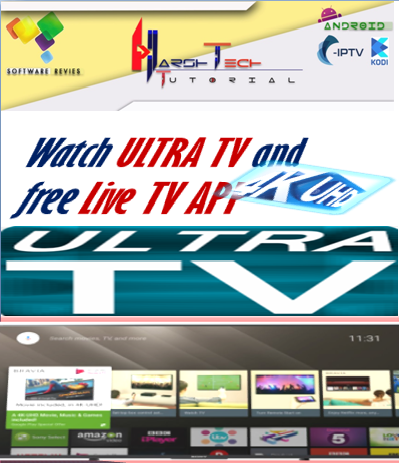 DOWNLOAD ANDROID  ULTRA TV  App AND YOU CAN WATCH OVER 100's OF FREE CABLE TV CHANNEL,SPORTS,MOVIES ON ANDROID DEVICE'S.