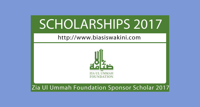 Zia Ul Ummah Foundation Sponsorship 2017