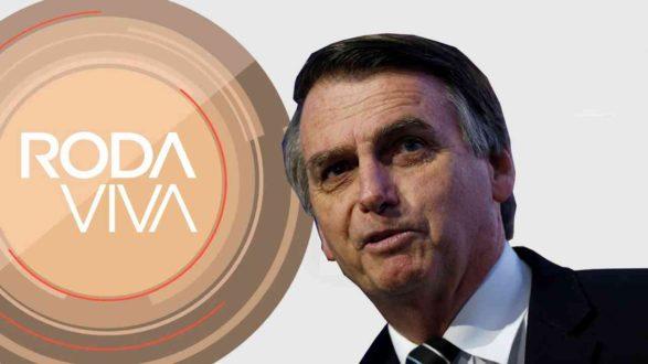 Ao vivo: Bolsonaro é sabatinado no Roda Viva; acompanhe