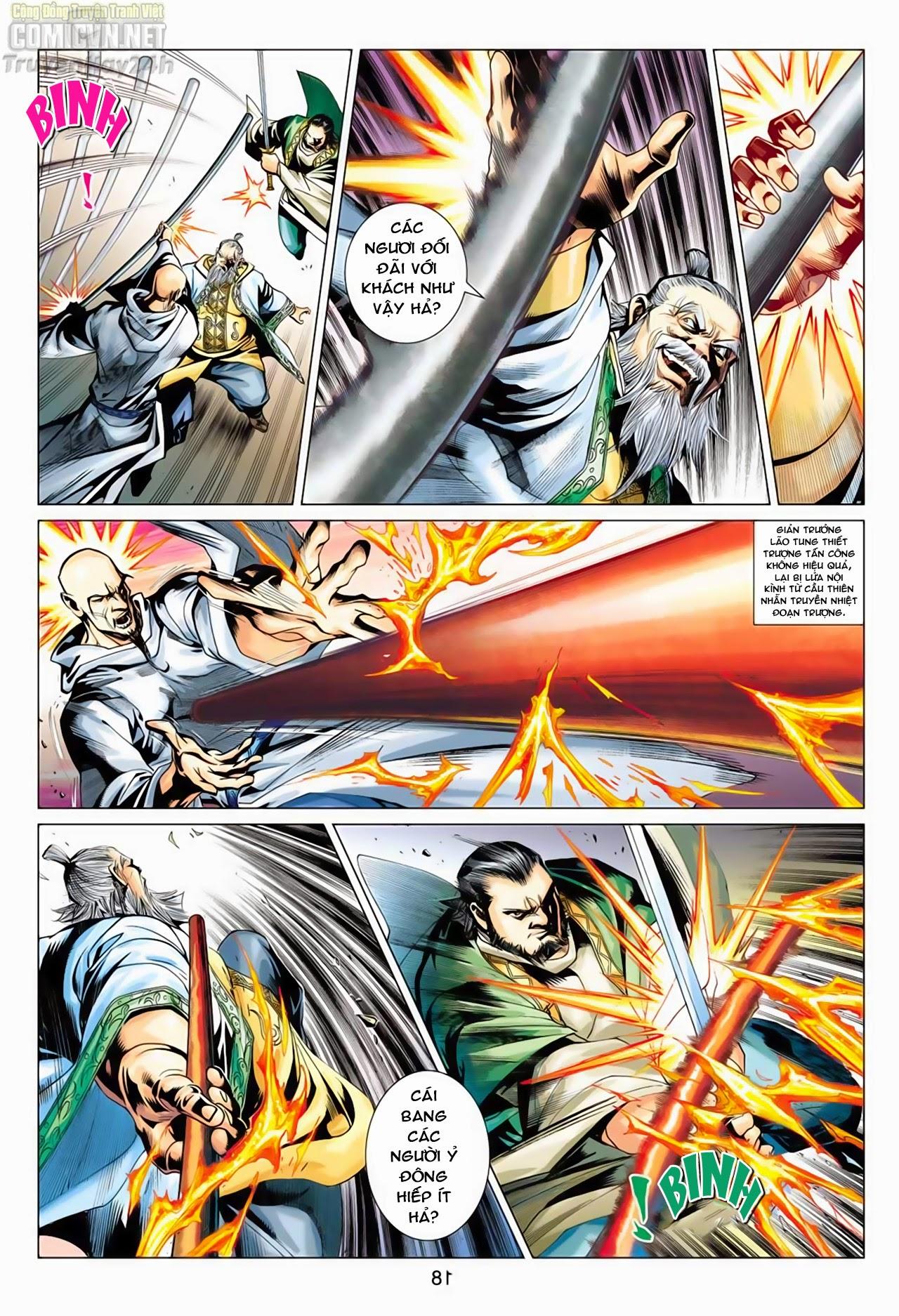 Anh Hùng Xạ Điêu anh hùng xạ đêu chap 66: nhạc châu đại hội trang 18