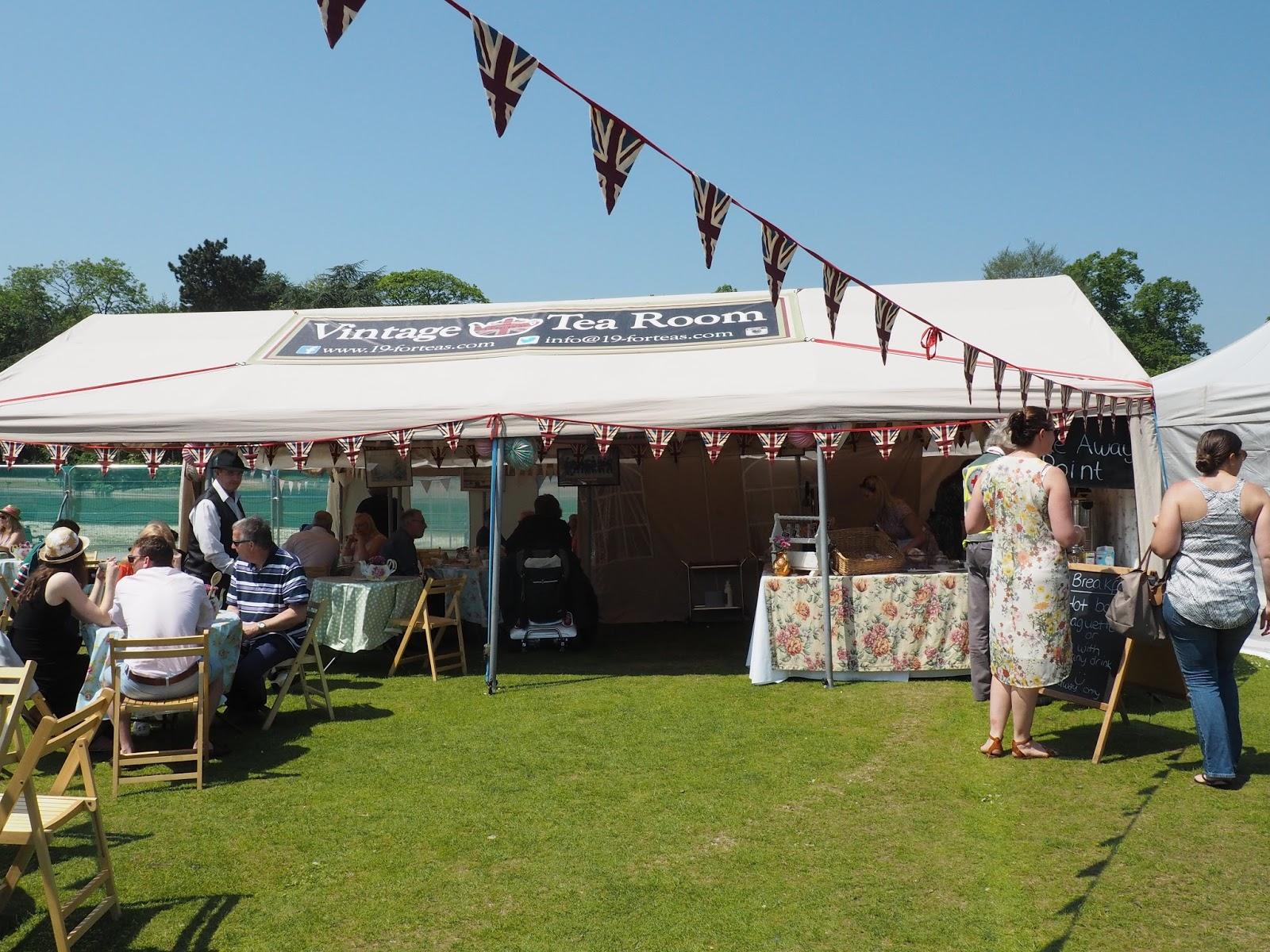 Foodies festival Birmingham vintage tea