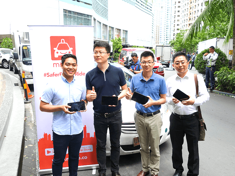 MiCab and Huawei announced in-cab tablet partnership!