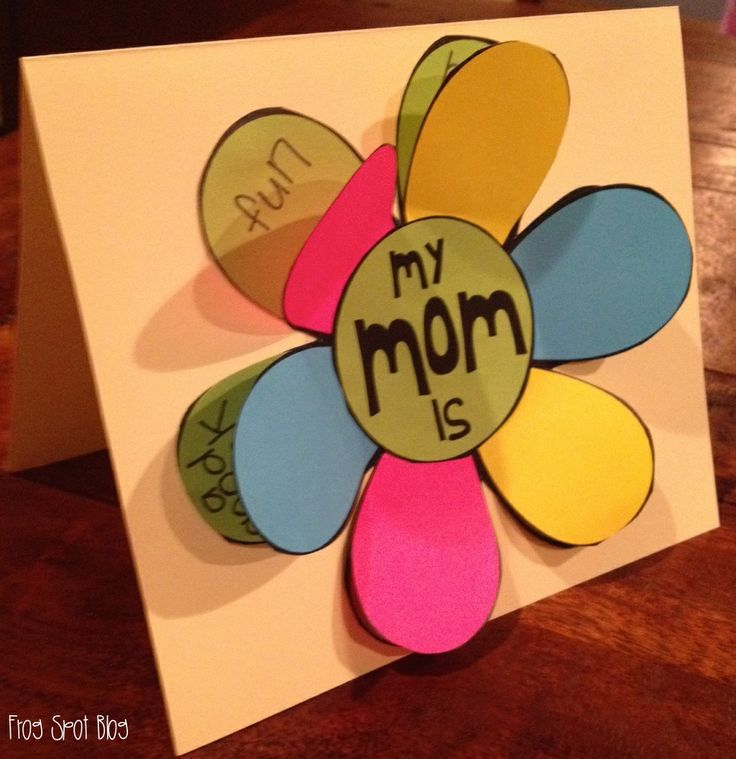 Mothers Day Cards Ideas For Children To Make Part - 32: Mothers Day Homemade Cards Ideas For Toddler Preschool Teacher