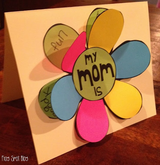 Mothers day homemade cards ideas for toddler preschool teachers