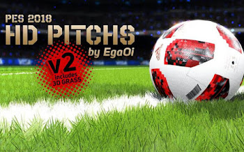 Realistic Pitch | V2 | All Stadiums | PES2018 [27.07.2018]