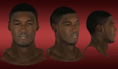 NBA 2K13 Roy Hibbert Cyberface Mod