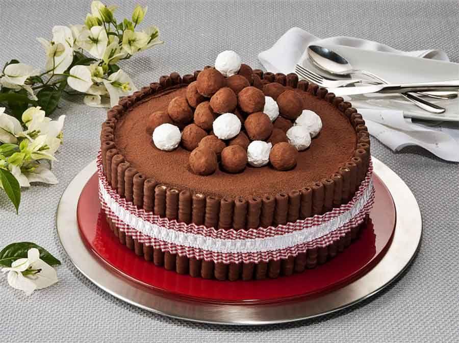Receita de Torta Torre Trufada
