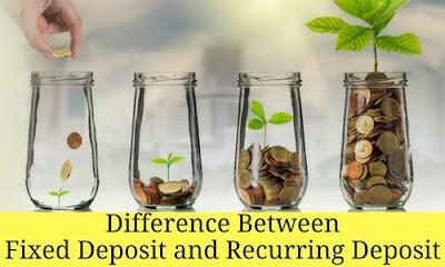 Fixed Deposit vs Recurring Deposit