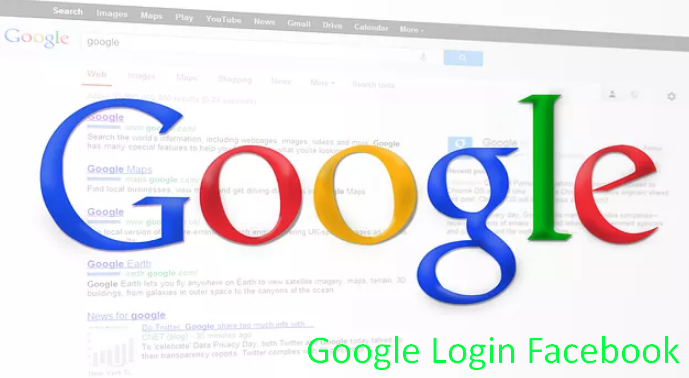 Facebook Login Homepage Google