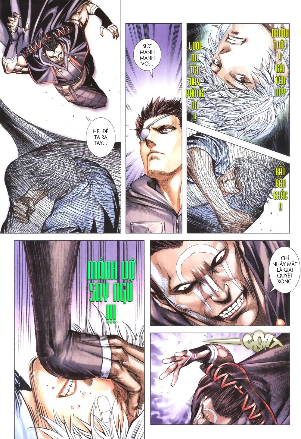 Đại Quân Phiệt chap 9 trang 11