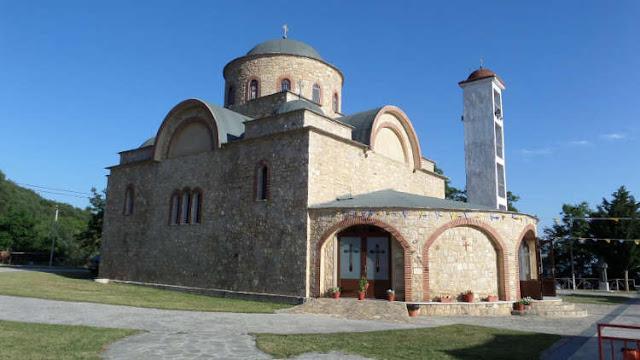 Επιμνημόσυνη δέηση στην Ιερά Μονή Αγίου Ιωάννη Βαζελώνος για τα θύματα της Γενοκτονίας