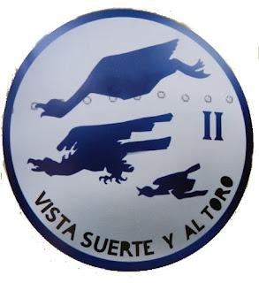 Escudo de la primera escuadrilla Azul