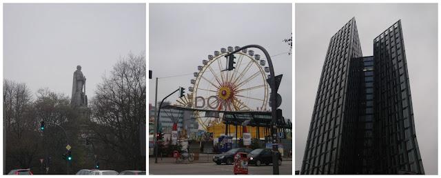 caminhando por St Pauli, Hamburgo