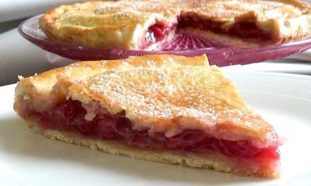 blog, recettes, chef, facile, rapide, tarte aux cerises, cherry pie, goûter, pâtisserie, dessert, twin peaks