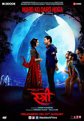 Stree 2018 Hindi Movie 480p HDRip 200Mb x265 HEVC