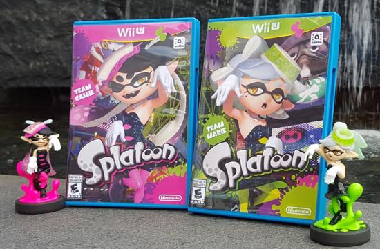 Video games: FREE Splatoon Squid Sisters box art for Team