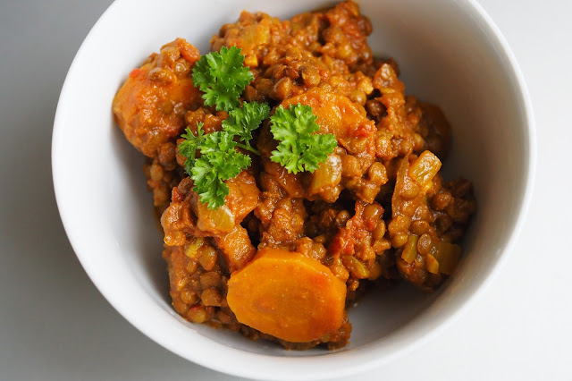 Lentilles carottes
