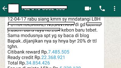 Contoh Sharing / Konsul Tentang Rajawalx 45