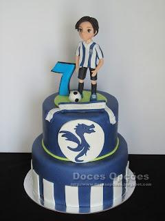 Bolo de aniversário FCPorto
