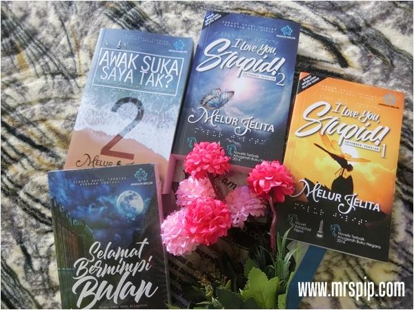 koleksi novel Melur Jelita