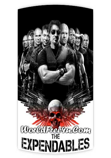 Poster Of The Expendables (2010) In Hindi English Dual Audio 300MB Compressed Small Size Pc Movie Free Download Only At worldfree4u.com