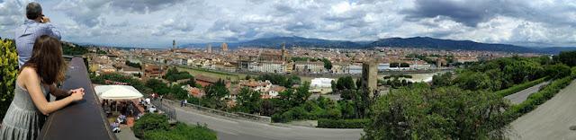 Panorámica Florencia