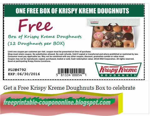 Krispy kreme coupons free dozen may 2018