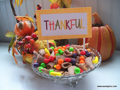 Thanksgiving Bugle Cornucopia Mix