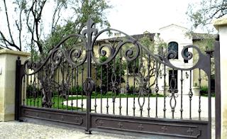 pagar tembok keliling rumah, kumpulan pagar tembok rumah, kos tembok pagar rumah