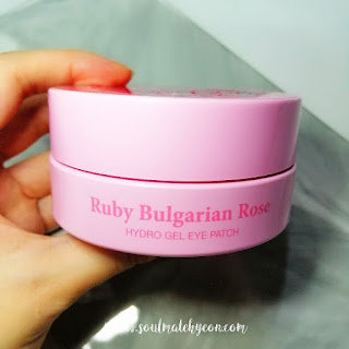 Review; Petitfee's Koelf Ruby and Bulgarian Rose Hydro Gel Eye Patch