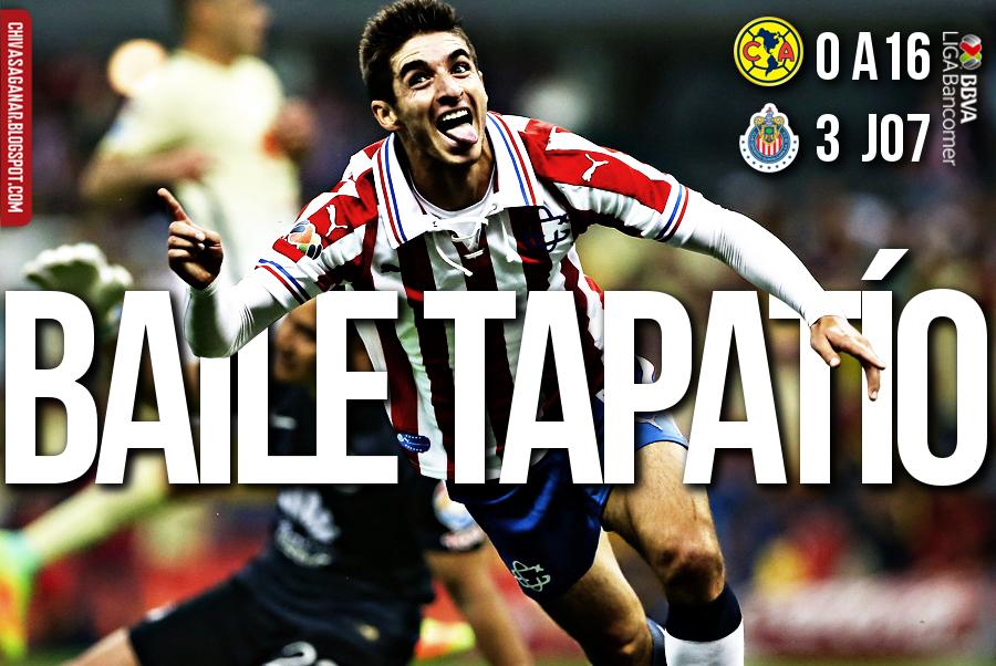 Liga MX : CF América 0-3 CD Guadalajara - Apertura 2016 - Jornada 7.