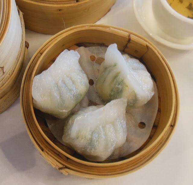 Gold Leaf, Docklands, prawn with chives dumplings