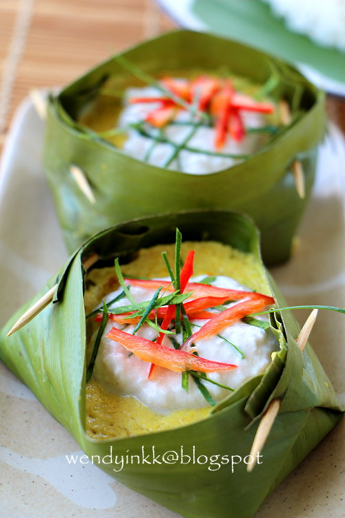 Make Kitchen Table Tweezers For 2.... Or More: Amok Trey @ Cambodian Fish Mousse ...
