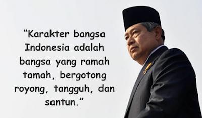 Kartu ucpan Kemerdekaan Presiden Susilo Bambang Yudhoyono