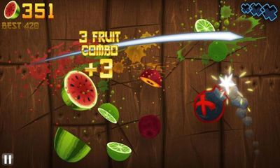Tampilan Game Ninja Fruit di playstore
