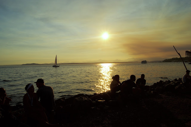 Seattle Hempfest Festival Sunset