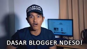Dasar Blogger Ndeso