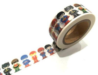 Superman Washi Tape