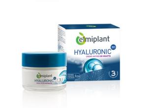 Cumpara de aici crema de zi antirid Hyaluronic Elmiplant