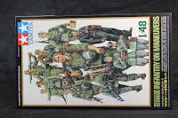 tamiya  infanterie allemande 1/48.